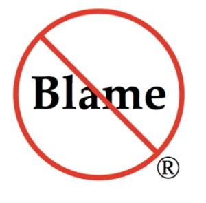 No blame logo